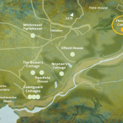 Flete Mill map