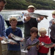 Family fishing fun on the Erme