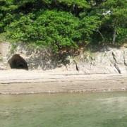 Lime kiln on Pamflete beach