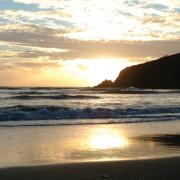 Sunset Mothecombe beach