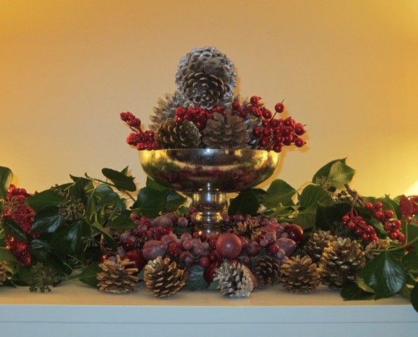 Christmas Decorations at Pamflete House
