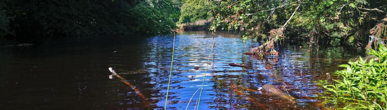 River Erme, flyfishing, permit, flete estate, ripples