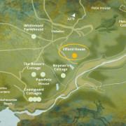 Efford map