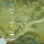 Pamflete House map
