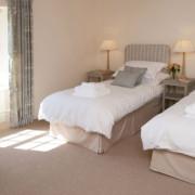Pamflete grey twin bedroom