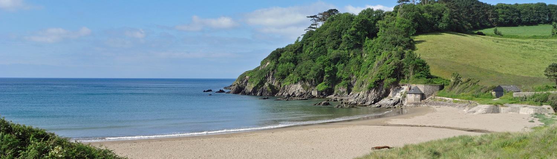 Mothecombe Beach, Flete Estate