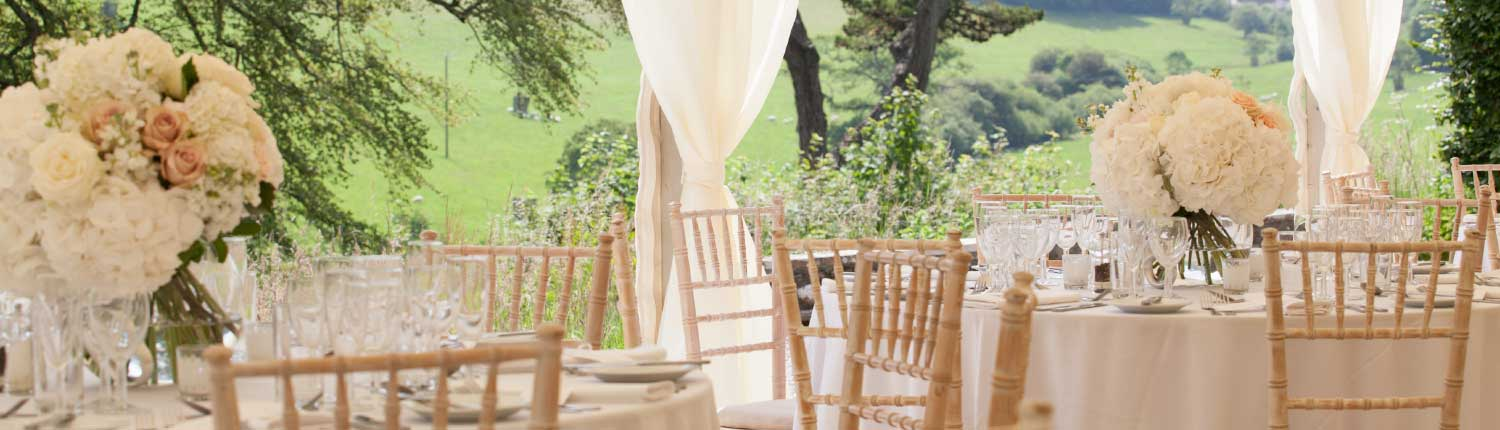 Wedding table at Pamflete