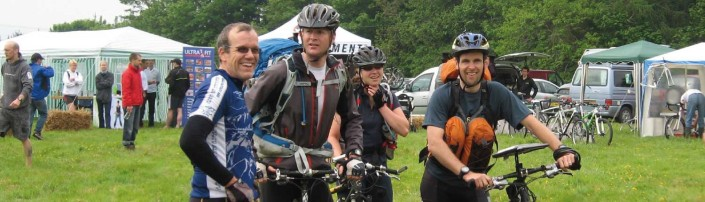 Adventure racing on the Flete Estate