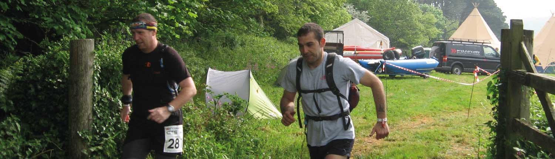 Trail running on the Flete Estate
