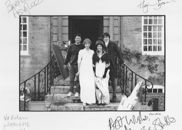 Signed photo Sense & Sensibility Cast
