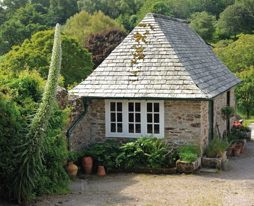 Potting shed at Mothecombe