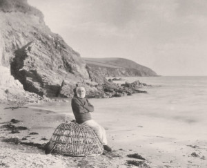 Old Mr Burch on Mothecombe Beach