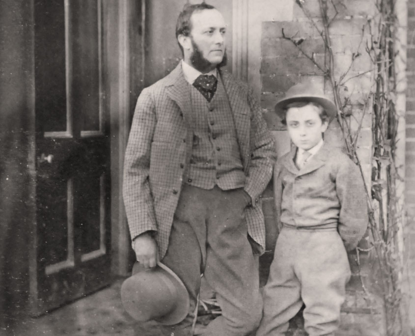 Henry and Frank Mildmay at Flete