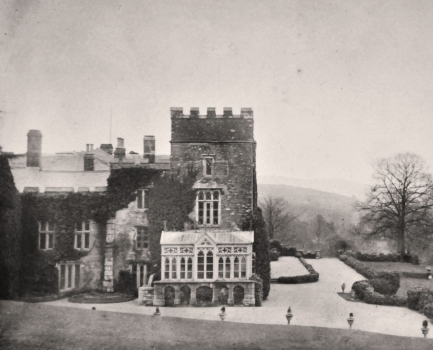 Flete House and terrace