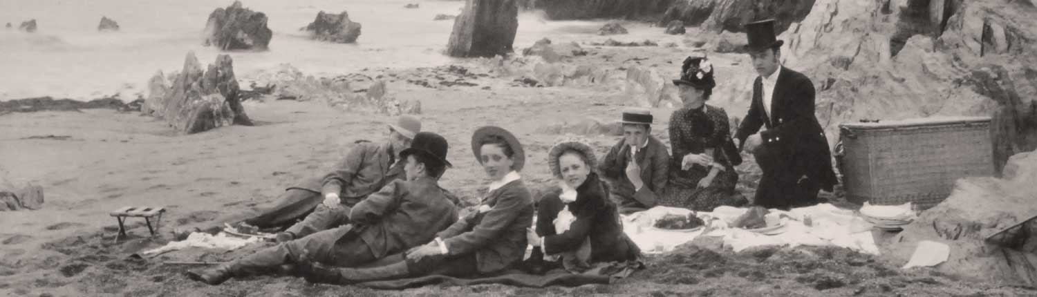 historic picnic Mothecombe beach