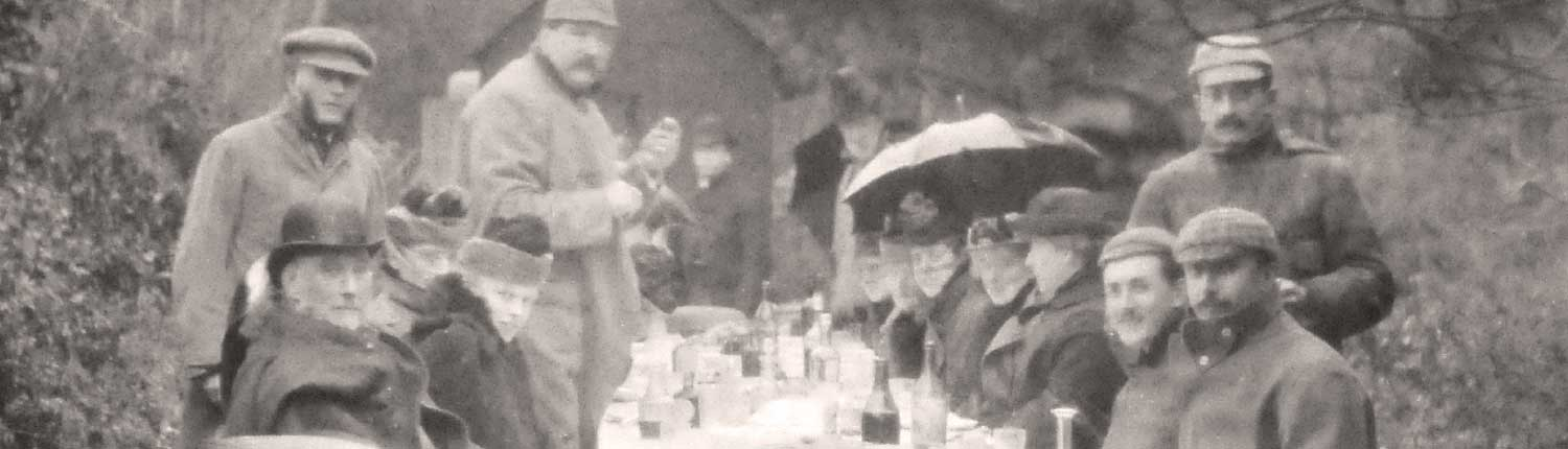 Victorian Shooting lunch at Pamflete