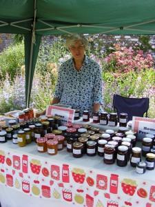 2015 Village Fete jam stall