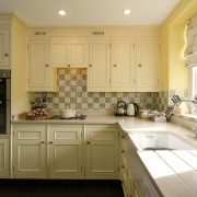 Efford Kitchen with oven