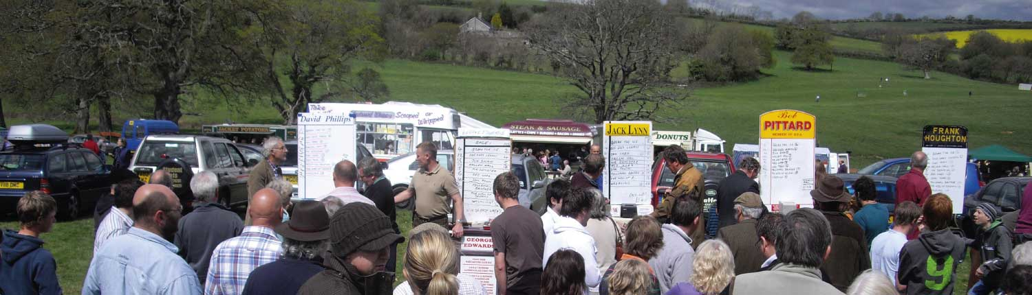Book makers at Flete Park Point to Point
