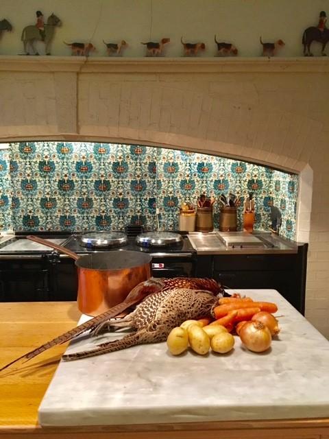 Pheasant rissole production