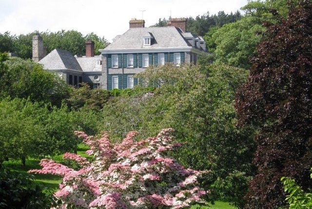 Mothecombe, spring, flowers, trees, country estate, flete estate