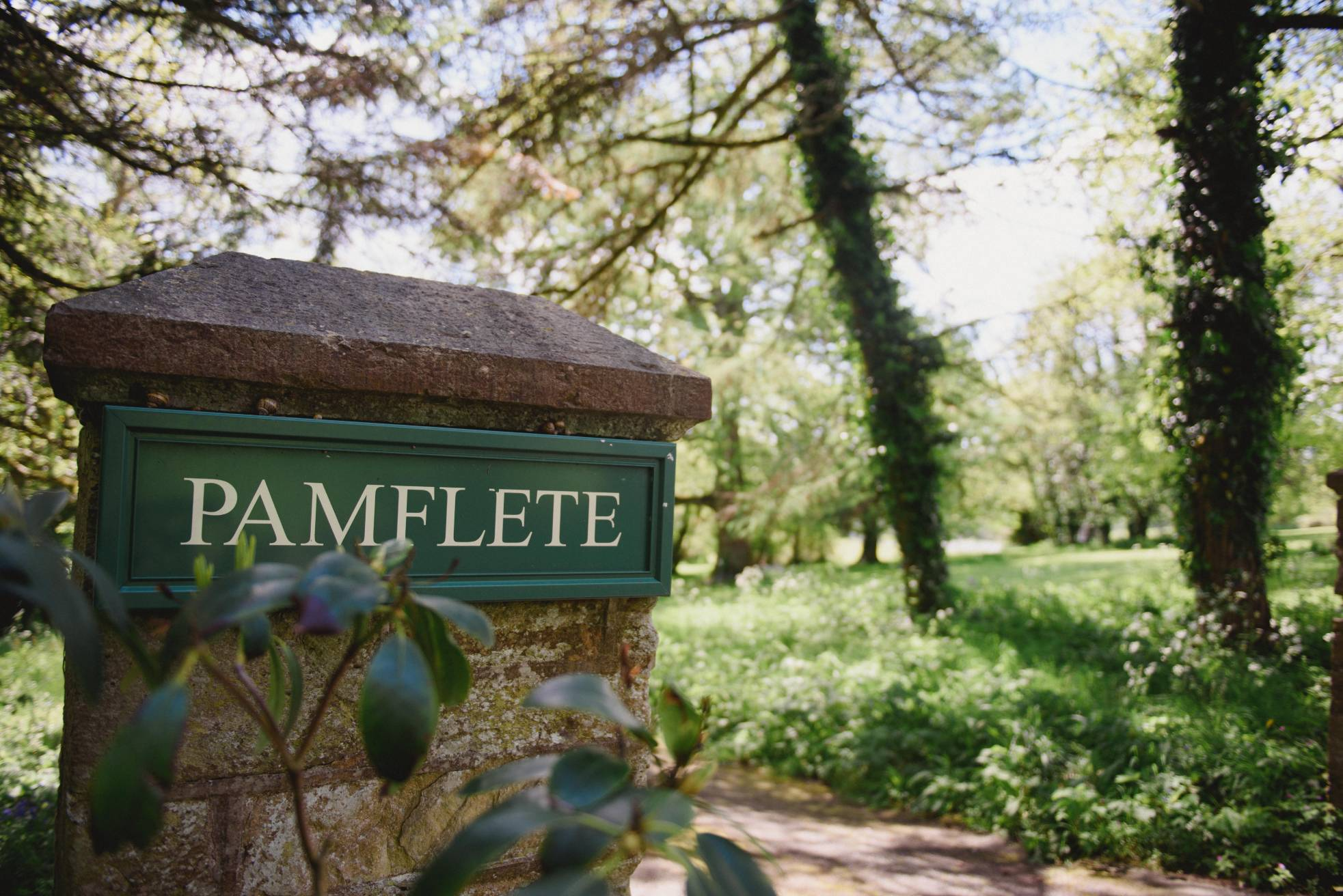Pamflete Driveway, private, exclusive and secluded access